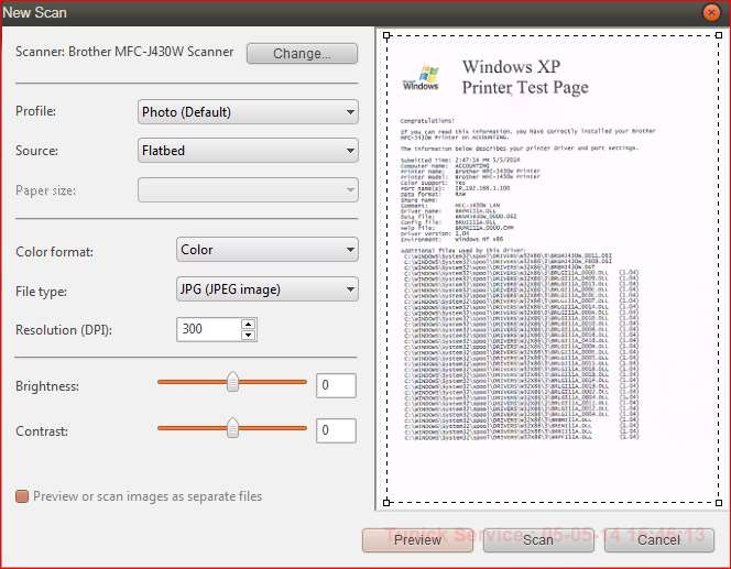 Gambar Tampilan Scan Di Windows 7 (Remote Driver)